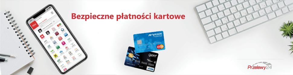 Przelewy24 opcje płatności - karty