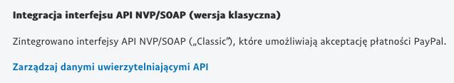 Płatności cykliczne PayPal - Integracja interfejsu API